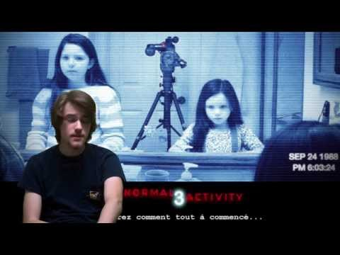 HORREUR CRITIQUE-Épisode 139-Paranormal Activity 3