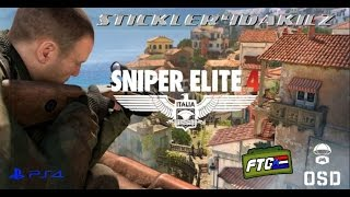 Sniper Elite 4 Solo Survival Tips, Part 1 - Village