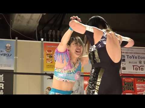2019.11.10 ジャガー横田 vs マドレーヌ【ワールド女子プロレス・ディアナ】
