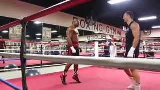 Wladimir Klitschko Shannon Briggs 29 07 2014  fight brawl scuffle thumbnail