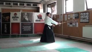 zengo no ido katate toma uchi [TUTORIAL] Aikido advanced weapon technique
