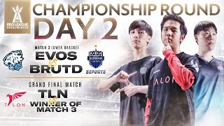RoV Pro League 2020 Winter Championship Round Day 2