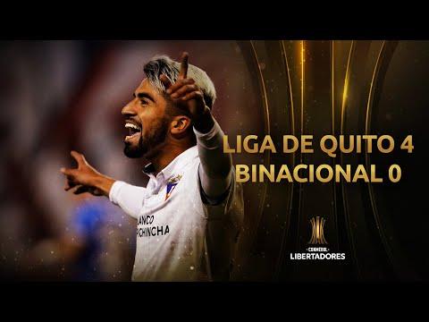 Melhores Momentos | LDU 4 x 0 Binacional | fase de Grupos | Libertadores 2020
