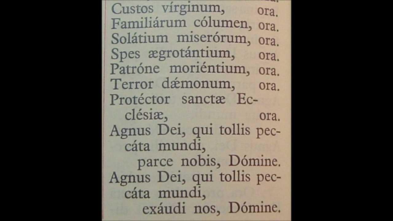 Joseph In Latin