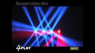 Chauvet 4PLAY LED DMX Light Beam Bar System