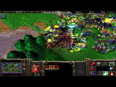 Warcraft 3 - Archimonde against All Units