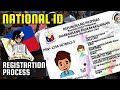 National ID System Philippines - Registration Process - PhilSys PhilID or Philippine National ID Card