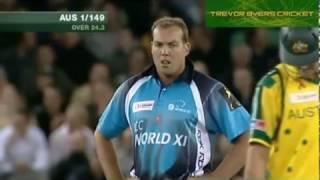 AUSTRALIA vs  WORLD XI 2005   2nd ODI FULL HIGHLIGHTS   YouTube