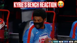 Watch Kyrie Irving's Bench Reactions To LaMarcus Aldridge's First Buckets In Brooklyn Nets Debut