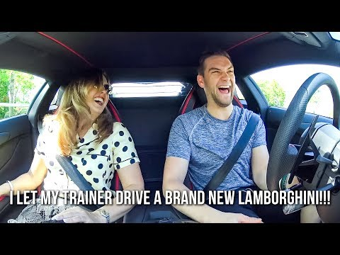 I Let My Trainer Drive a Brand New 2017 Lamborghini Aventador S!!! - VLOG #9