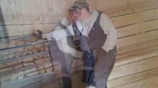 видео Баня из керамзитобетонных блоков. Проект строительства