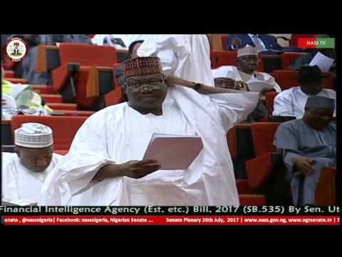Nigerian Senate Plenary, 26th  July, 2017