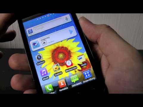 LG P970 OPTIMUS Black im Test (4): das mobile Internet