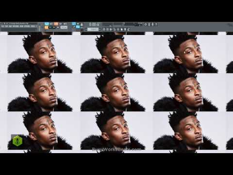 New 21 Savage Metro Boomin FL Studio 12 Tutorial