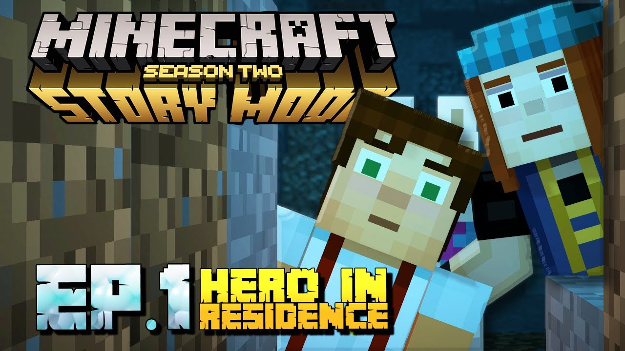 Minecraft Story Mode Season 2 Gameplay Part 1 Episode 1 Hero