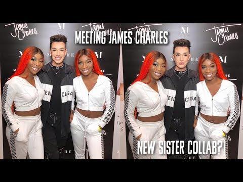 WE MET JAMES CHARLES!! thumbnail