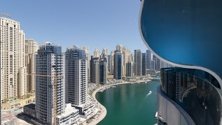 3 bedrooms in Orra Tower Dubai Marina for rent full sea view