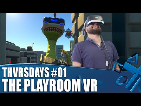 The Playroom VR - New PSVR Gameplay | THVRSDAYS Episode 01
