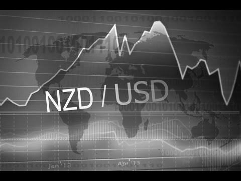 NZD/USD – The Kiwi is Trading Near the Trend Line