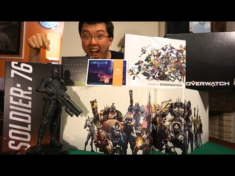 Unboxing Overwatch Collector