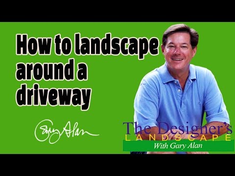 How to landscape around a Driveway Designers Landscape#607