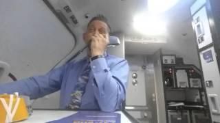SouthWest Flight Attendant, He