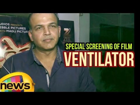 Ashutosh Gowariker About Ventilator At Special Screening | Priyanka Chopra | Mango News