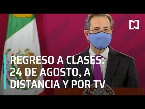Regreso a clases el 24 de agosto 2020, a distancia y por Televisión;  Esteban Moctezuma - Despierta