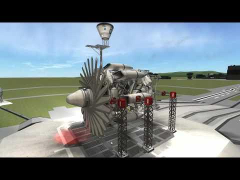 Kerbal Space Program - Stock Turbofan engine
