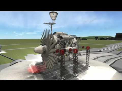 Kerbal Space Program - Stock Turbofan engine