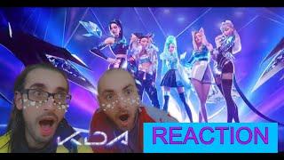 League players react to K/DA MORE