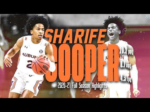 Sharife Cooper Auburn 2020-21 Full Season Highlights | 20.2 PPG 8.1 APG 4.3 RPG, SEC All-Freshman!