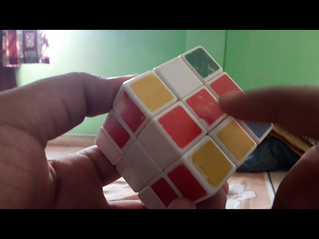 Learn rubiks cube in telugu