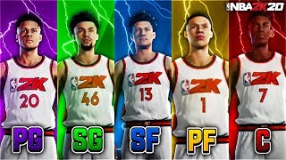 BEST POSITION IN NBA 2K20 FOR EVERY ARCHETYPE (GUARDS & CENTERS) + PLAYER BUILDS & AFFECT ON BADGES