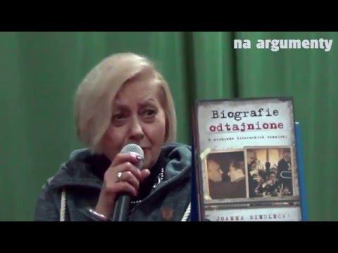 Joanna Siedlecka odtajnia biografie z czasów PRL