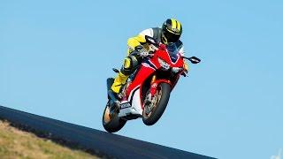 Honda CBR1000RR Fireblade SP Test Ride 2017 Portimão
