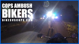 COP BODY SLAMS BIKER Off Bike Then Realize They
