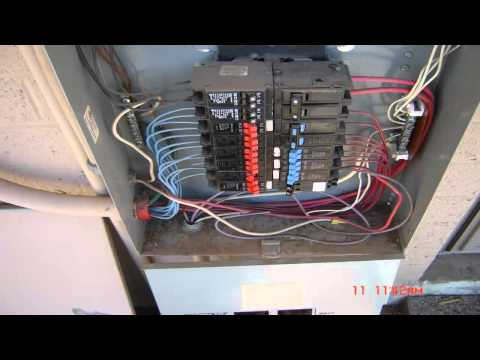 Electrical Wiring- Residential 3 phase service