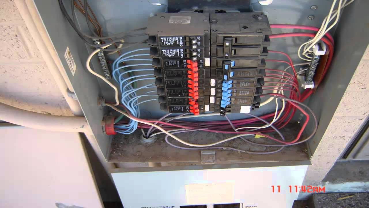 Electrical Wiring Residential 3 Phase Service Youtube Commercial Entrance Diagram