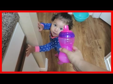 1 Year Old Tries Whole Milk | December 19, 2018 VLOG