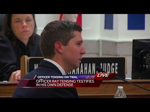 Ray Tensing questioned by prosecutors in his murder trial