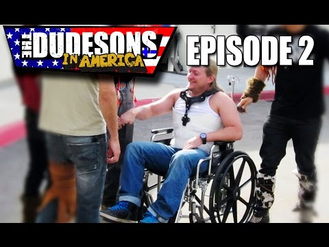 JARPPI ENDED UP IN A WHEELCHAIR - Dudesons In America - Episode 2