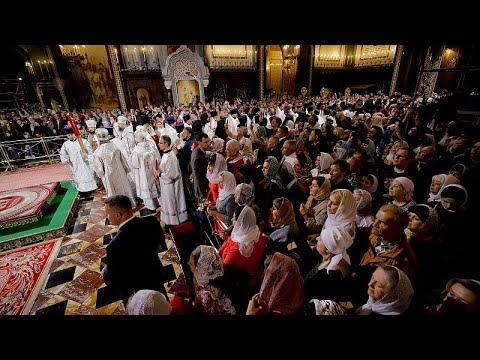 Ortodoks Kilisesi Paskalya Bayramı'nı Kutladı