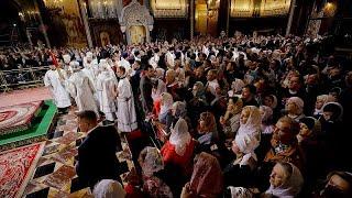 Ortodoks Kilisesi Paskalya Bayramı& 39 nı kutladı