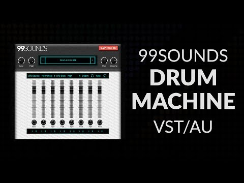 99Sounds Drum Machine DEMO (Free VST/AU Plugin)
