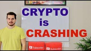 bitcoin and crypto are CRASHING BAD