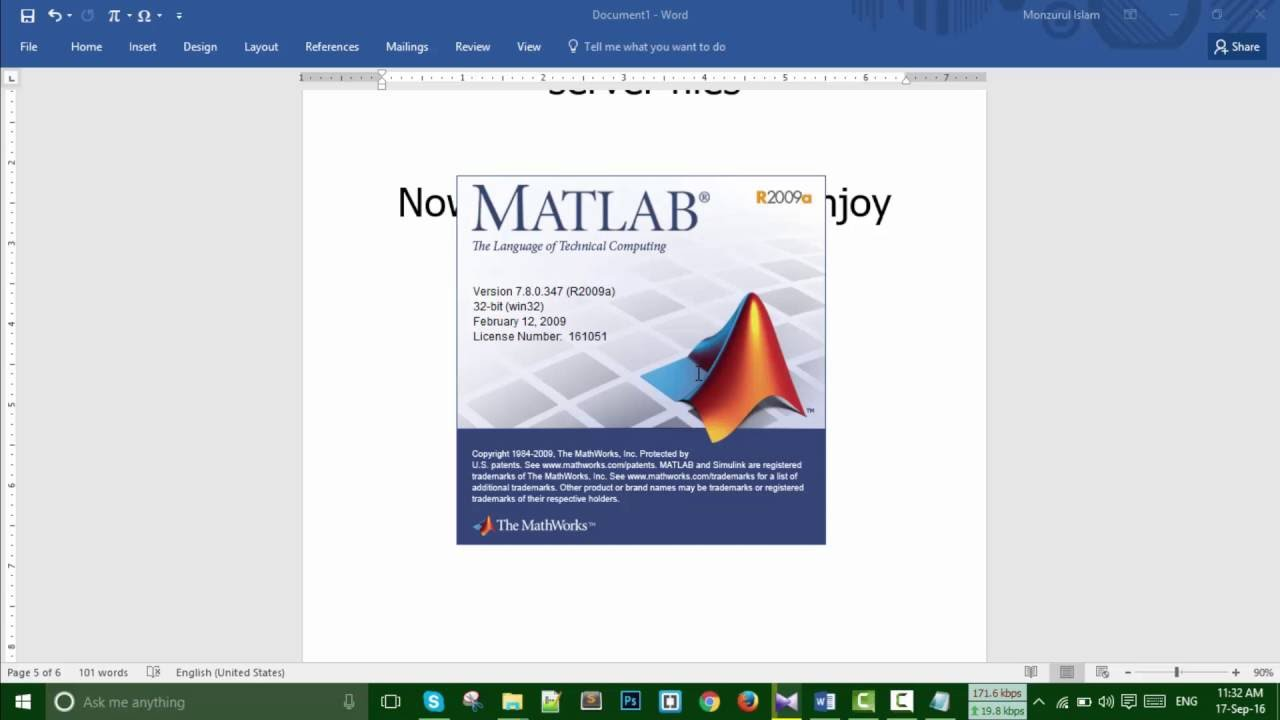 how to stop file running matlab
