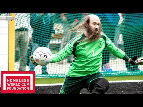 Excellent Saves! | Men's Homeless World Cup Plate | Oslo 2017
