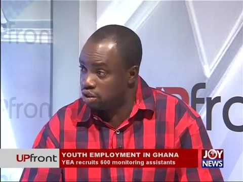 Youth employment in Ghana - UPfront on JoyNews (13-7-17)
