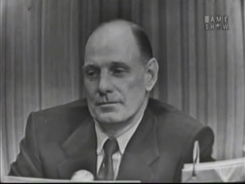 What's My Line? - Leo Durocher; Laraine Day [panel]; Barbara Kelly [panel] (May 31, 1953)